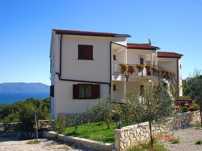 Apartments Rabac & Labin - holiday home in Drenje with sea view