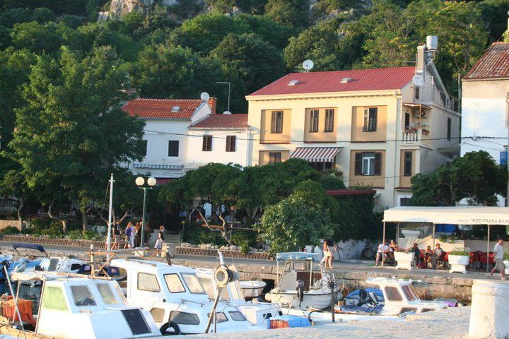 Apartment in the historical center of Baska, ideal if you have a boat