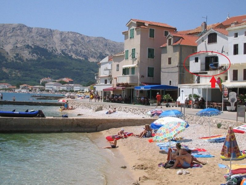 Apartments, Baška, Island of Krk - Apartment ID 1206