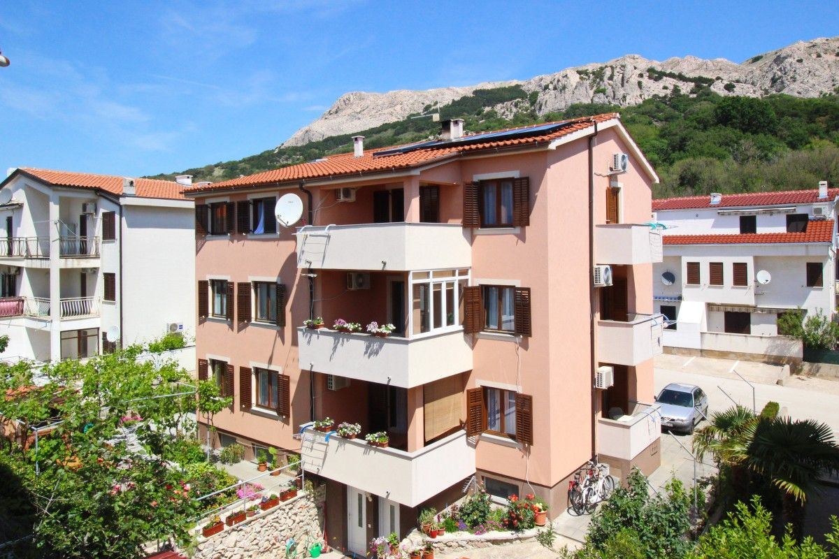 Apartments, Baška, Island of Krk - Apartment ID 1354