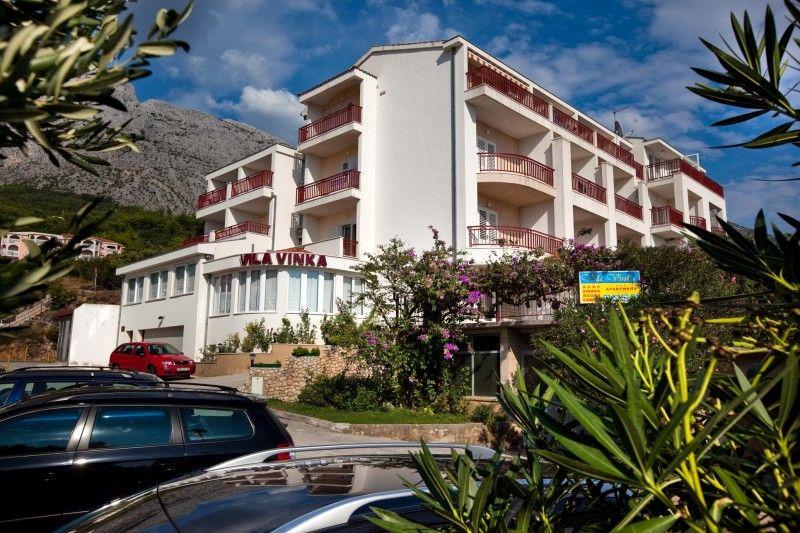 Hotely, Tučepi, Makarská Riviéra - VILLA VINKA