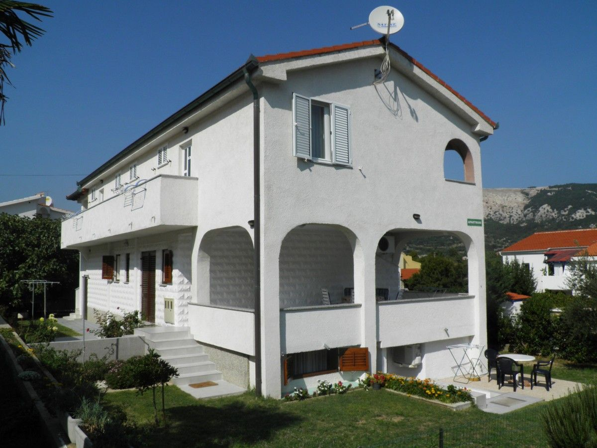 Apartments, Baška, Island of Krk - Apartment ID 0153