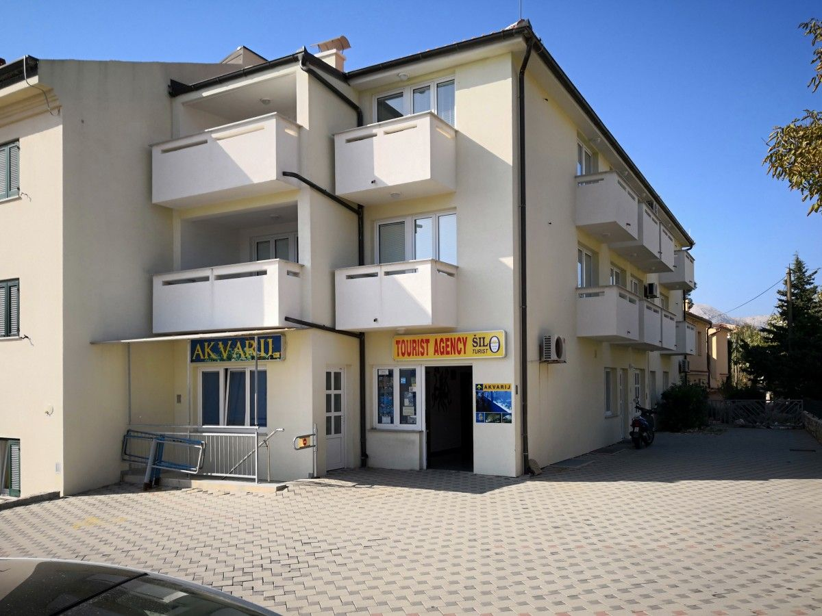 Centrally located apartments in Baska on the Krk Island
