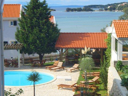 Holiday Homes Island of Rab - Holiday Home with Swimming pool near sand beach in Kampor on Rab Island
