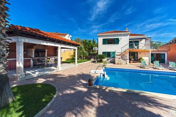 Holiday Homes, Sumartin, Island of Brač - Renovated villa in picturesque town Sumartin on Brač island
