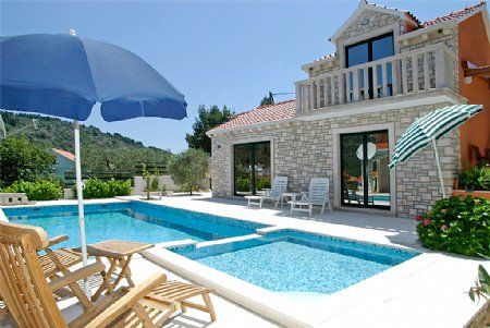 Villy/Dovolenkové domy, Vela Luka, Ostrov Korčula - Dovolenkový dom  ID 1865