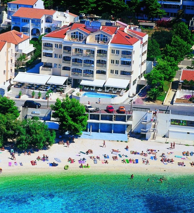 Hotely, Baška Voda, Makarská Riviéra - APARTHOTEL MILENIJ