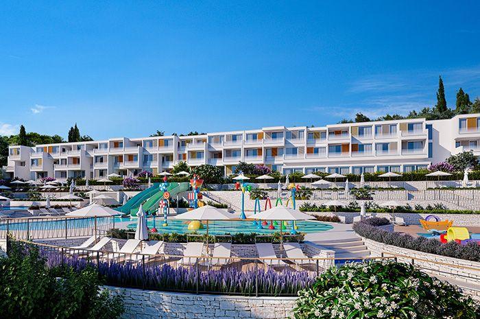 Hotely, Rabac, Rabac a Labin - GIRANDELLA FAMILY HOTEL