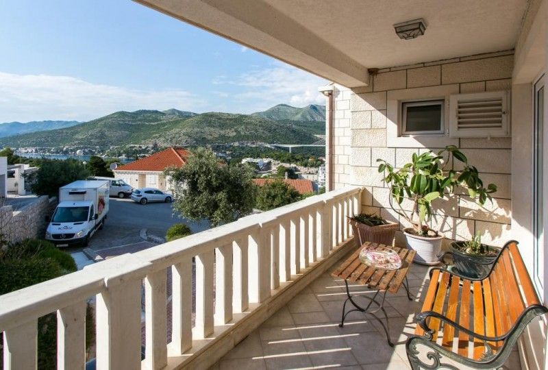 Apartments Dubrovnik - Two-Bedroom Apartment with Balcony and Sea View - Babin Kuk, Dubrovnik