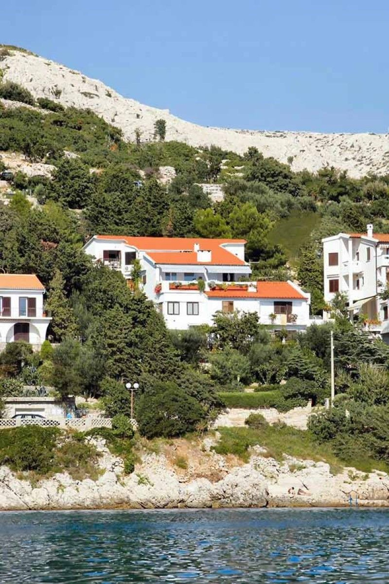 Apartments, Baška, Island of Krk - Seafront Apartments Kricin in Baska on the Krk Island
