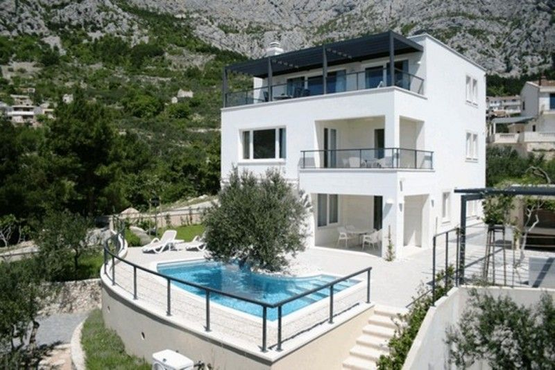 Rezidencije, Makarska, Makarska Riviera - vila IVAN with pool Luxury