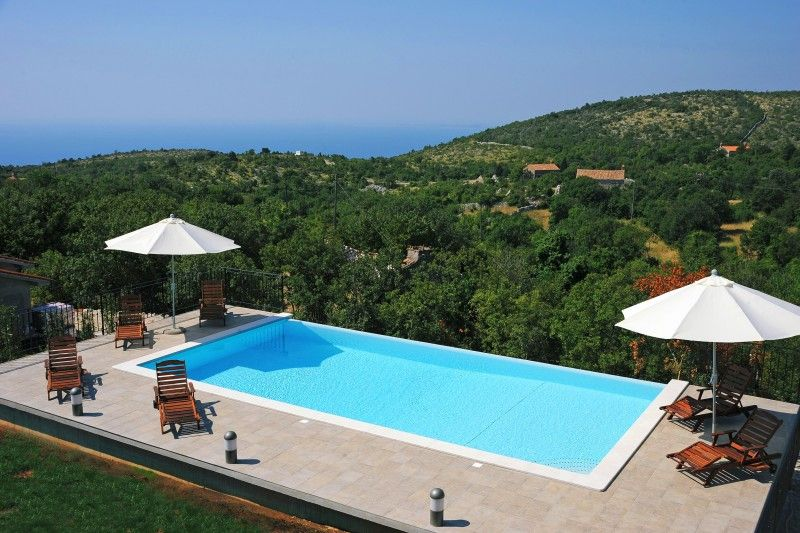 Holiday Homes, Skitača, Rabac & Labin - Villa with Swimming pool in Skitača - Istria