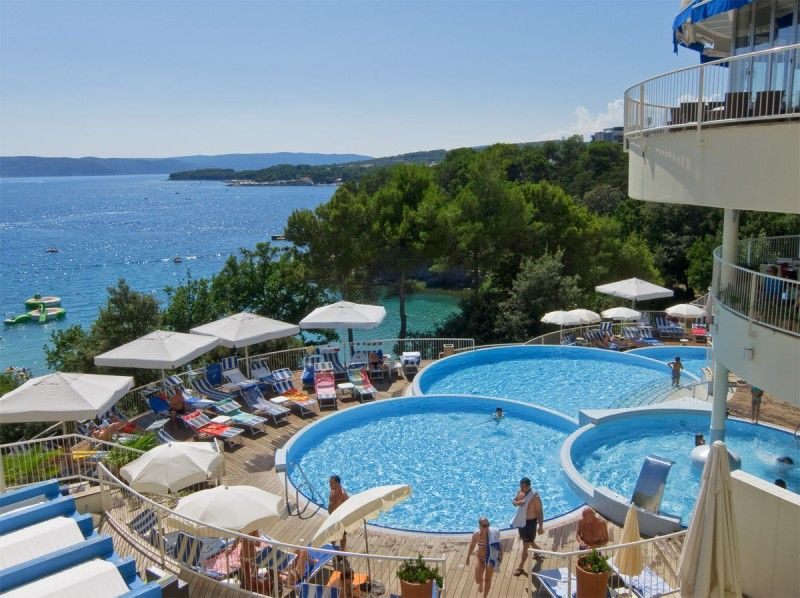 Hoteli, Krk, Otok Krk - VALAMAR KORALJ ROMANTIC HOTEL