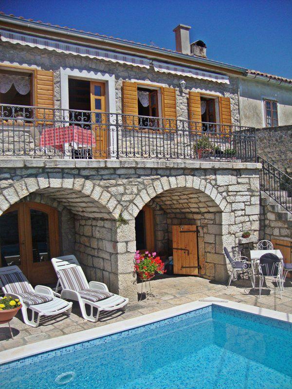 Villy/Dovolenkové domy Crikvenica a okolie - Dovolenkový dom  ID 2393