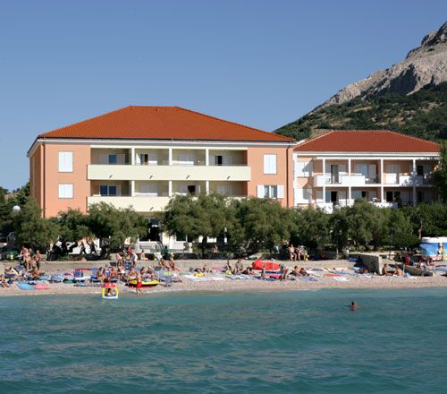 Hotely, Baška, Ostrov Krk - VILLA ADRIA
