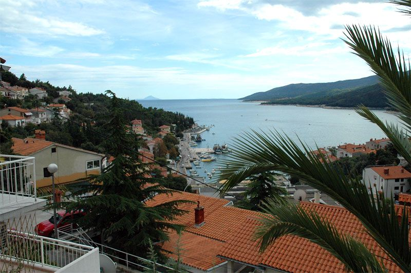Cosy apartment for couple with panorama sea view to Rabac bay