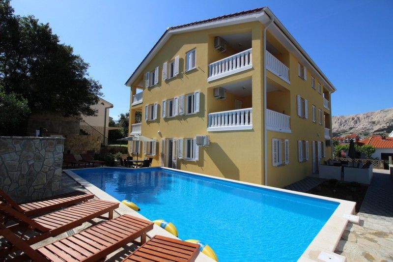 Apartments Island of Krk - Apartment ID 2507