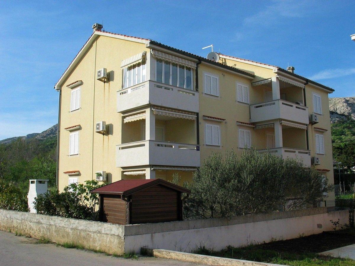 Apartmány, Baška, Ostrov Krk - Apartmán ID 2525