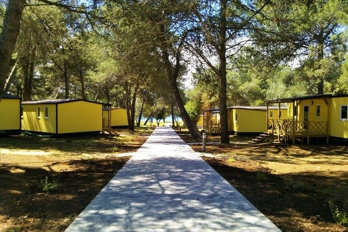 Mobile Homes, Fažana, Pula & south Istria - MOBILE HOMES - CAMPING PINETA, Fažana, Istria, Croatia