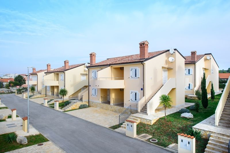 Newly built apartments Oleander near the sea in Medulin, Istria