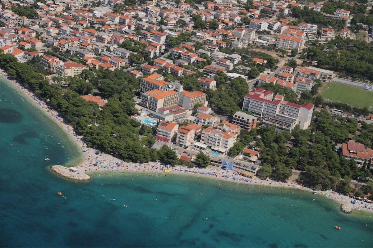 Hotely, Baška Voda, Makarská Riviéra - Hotel Hrvatska, Baška Voda