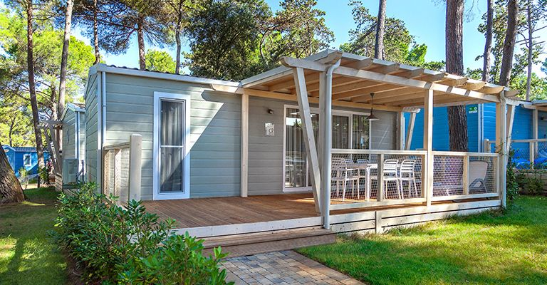 Mobile Homes Poreč region - Camping Resort Lanterna - Marine Premium Village