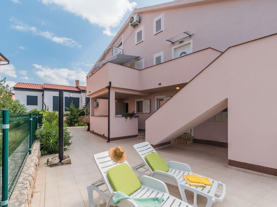 Apartmány, Čižići-Klimno-Soline (Šilo), Ostrov Krk - Apartmán ID 2883
