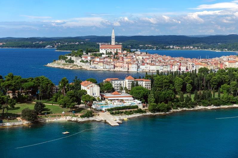 Hotels Rovinj and surroundings - ISLAND HOTEL KATARINA
