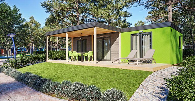 camping resort lanterna maro premium mobilheime tar. Black Bedroom Furniture Sets. Home Design Ideas