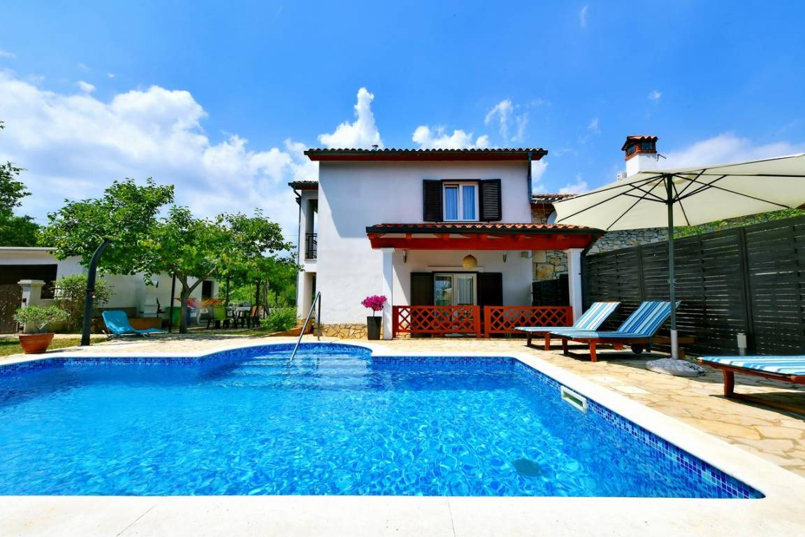 Holiday Homes Rabac & Labin - Holiday home Marija with pool near Labin-Rabac in Istria