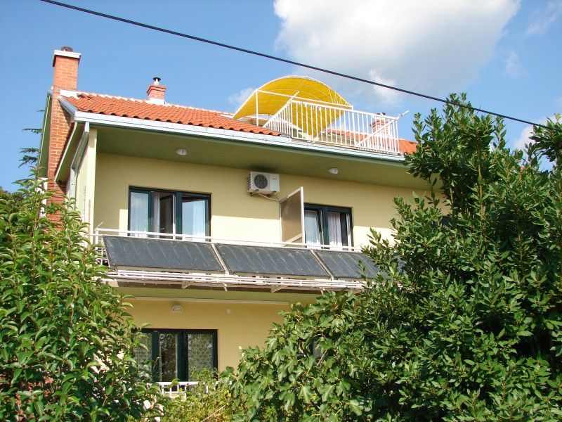 Apartments near sandy beach in Crikvenica, Kvarner