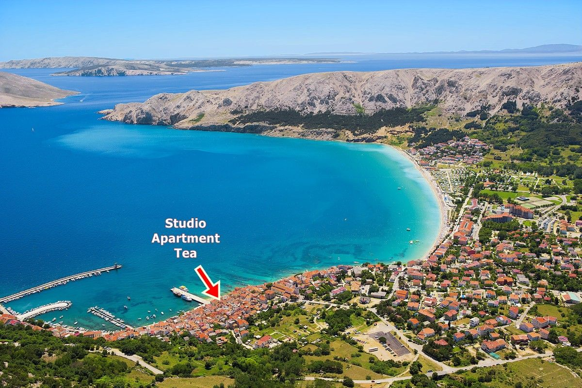 Apartments, Baška, Island of Krk - Apartment ID 3162