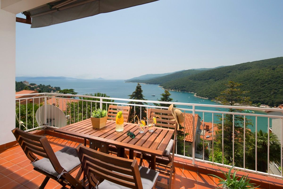 Apartments, Rabac, Rabac & Labin - Comfortable apartment with stunning sea view
