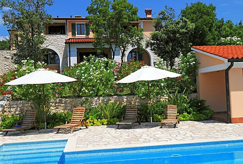 Holiday Homes, Koromačno, Rabac & Labin - Holiday Home BILJANA - holiday home with swimmingpool in Labin - Istrian coastline