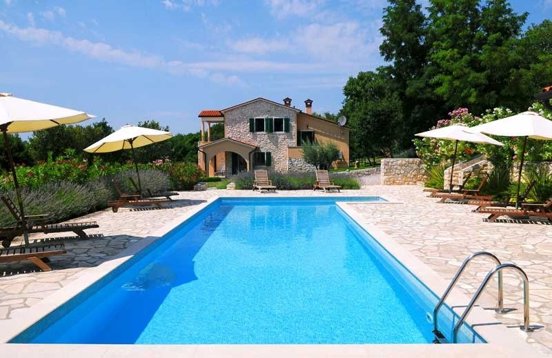 Holiday Homes, Koromačno, Rabac & Labin - Holiday Home MAGGIE - holiday home with swimmingpool in Labin - Istrian coastline