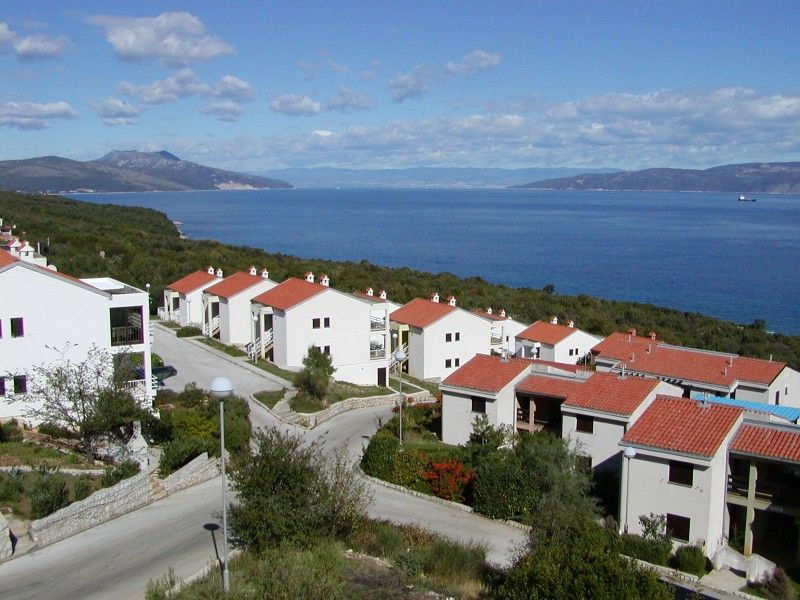 Apartments, Ravni, Rabac & Labin - Ravni apartment with panorama sea view on Island Cres