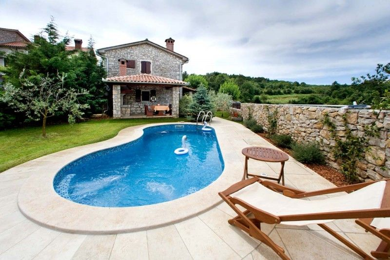Holiday Homes, Kršan, Kršan & Plomin - Holiday Home with swimmingpool in Kršan, Istria