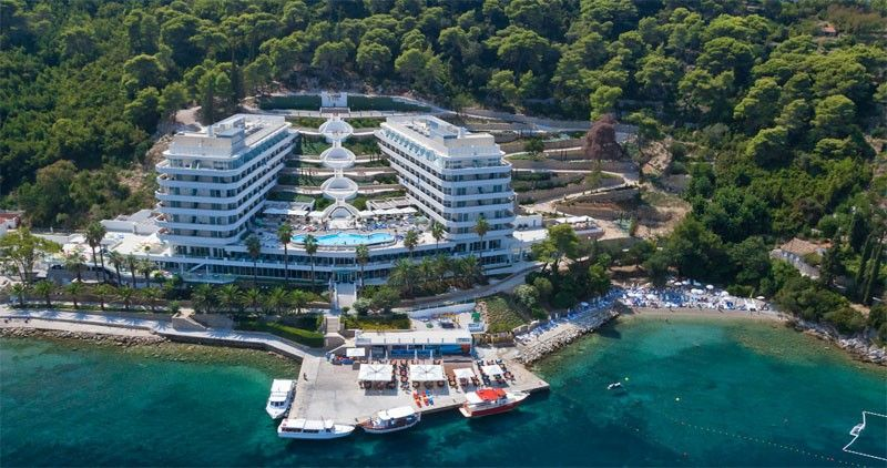 Hotely, Lopud, Ostrov Lopud - HOTEL LAFODIA