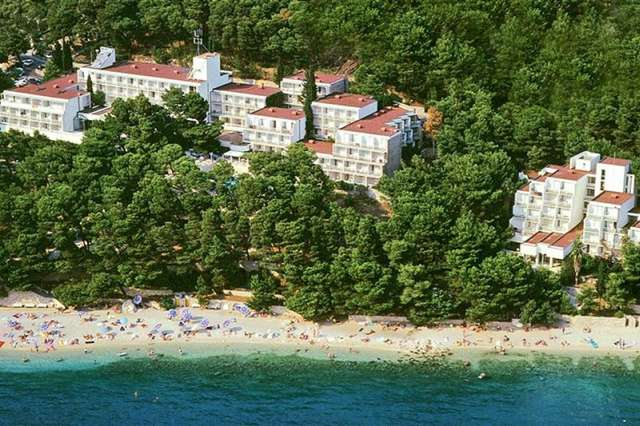 Hotely, Brela, Makarská Riviéra - BLUESUN HOTEL BERULIA