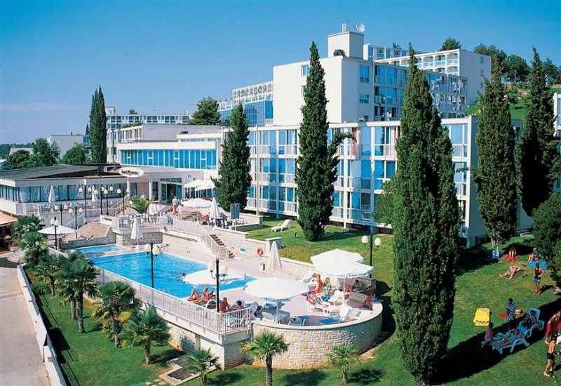 Hotely Poreč region - HOTEL ALL INCLUSIVE ZORNA