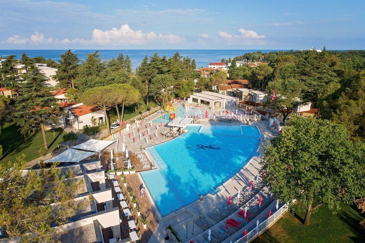 Hotel Park Plava Laguna Porec Porec Region Istria Chorvatsko