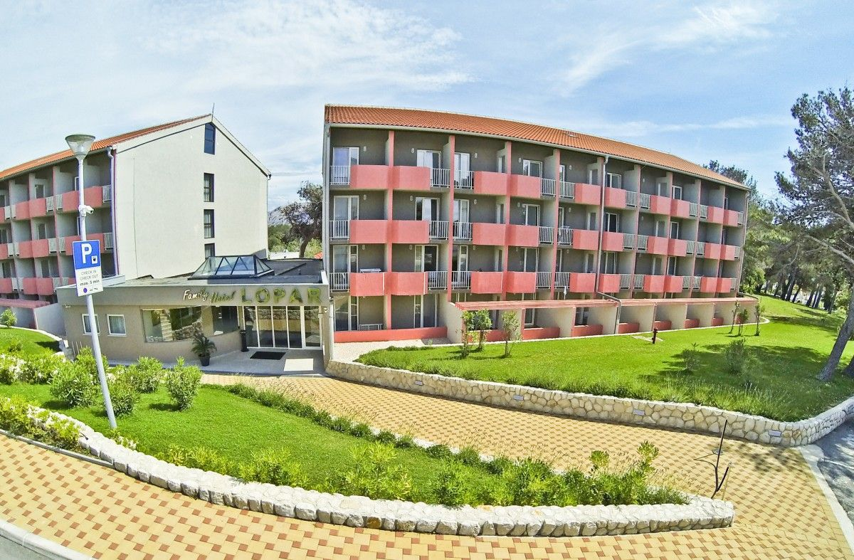 Hotely, Lopar, Ostrov Rab - RODINNÝ HOTEL LOPAR - TN SAN MARINO