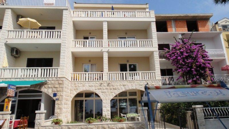 Apartmány, Tučepi, Makarská Riviéra - Apartmány priamo pri pláži v časti Kamena