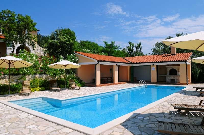 Holiday Homes, Koromačno, Rabac & Labin - Holiday Home ANNA - holiday home with swimming pool in region Labin-Rabac, Istria