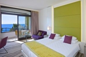 Double/Triple room Superior with balcony and sea view