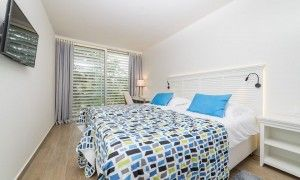 Double room, park side, balcony