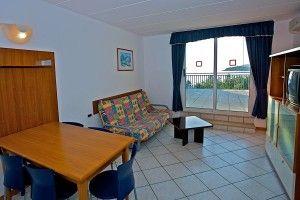 Apartman s 1 spavaćom sobom s prostranom terasom i pogledom na more