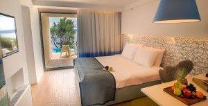 Standardna soba s bračnim krevetom - pogled na more
