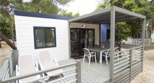 Mobile home for 6 persons / 3 bedrooms - ARIA 34m2