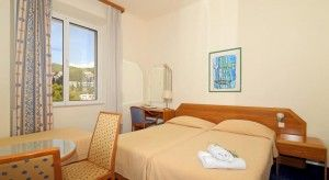Standardna soba s bračnim krevetom - pogled na park